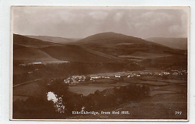 Ettrickbridge From Red Hill - A.r.edwards , Selkirk Rp