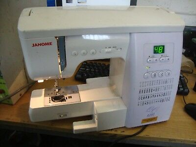 JANOME 40 QC SewingQuilting Machine Plus Accessories £4040 Best Janome 6260qc Sewing Machine Price