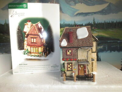 Dept. 56 Dickens' Christmas Village ~ A Christmas Carol ~ Belle's House #58512