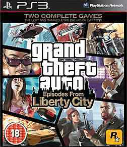 Grand Theft Auto IV: Episodes from Liberty City (PS3) - USED *VGC*