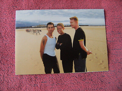 Depeche Mode Bong Official Fan Club Christmas Card 2000