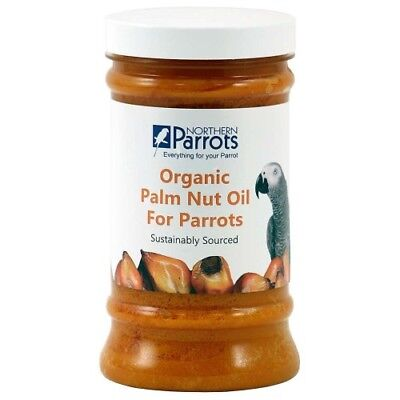 ORGANIC  PARROT PALM NUT OIL - 100% NATURAL TREAT FOR PARROTS - 500ml
