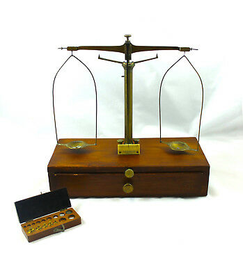 Vintage Kohlbusch Balance Apothecary Scale w/Weights  Pharmacist-Attorney Gift
