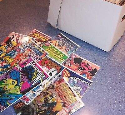 SUPER CHEAP! Huge 20 Comic Book Lot 1980s - 2010s Marvel and DC. Bronze – Modern