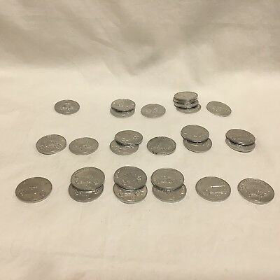 Vtg, Sunoco Oil,dx Antique Car Coins,series 1,  Lot Of 27