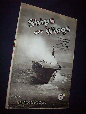 Vintage Ships Have Wings Ealing WWII War Film Movie Tie-In Photo Illustrated