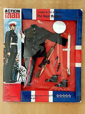 ACTION MAN / ACTION TEAM / GEYPER MAN :  THE ROYAL MARINES , in OVP