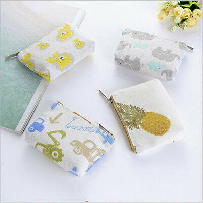 Construction Vehicle Pineapple Women Small Wallet Short Coin Storage Bag one
