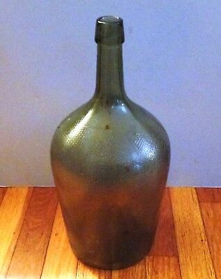 "Antique / Vintage Large Glass Bottle 14"" H"