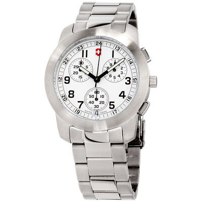 Victorinox Field White Dial Stainless Steel Ladies Watch 26050CB
