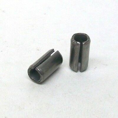 """9 Pack New 3/8"""" X 3/4"""" 420 Stainless Steel Spring Roll Pin Slotted Free Ship Nh"""