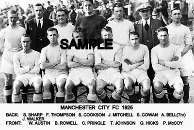Manchester City FC 1925  Team Photo