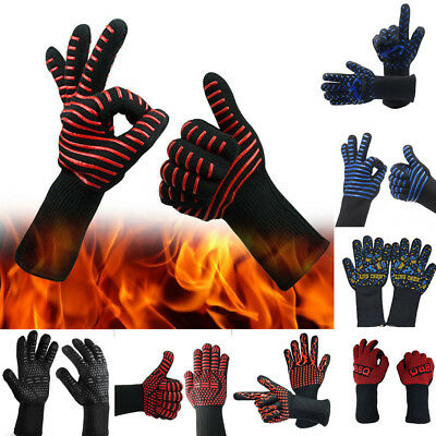 Hot BBQ Grilling Cooking Gloves Extreme Heat Resistant oven Welding Gloves HOT