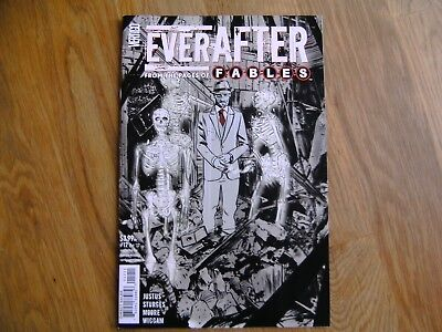VERTIGO Fables Everafter graphic comic iss #12 Oct 2017 NEW Justus Sturges Moore