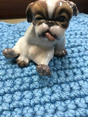 Adorable Royal Copenhagen Bulldog #1134