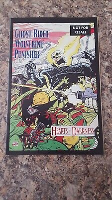 Punisher ,ghost Rider,wolverine.hearts Of Darkness 2005 Promo Comic .nm