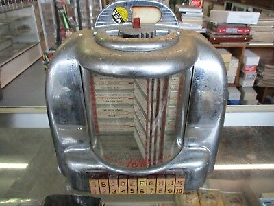 Vintage Seeburg 100 Wall-O-Matic Selector Jukebox  *untested*
