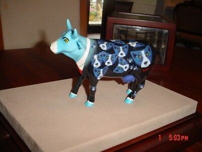 COW ON PARADE, BLUE DOG, George Rodrigue