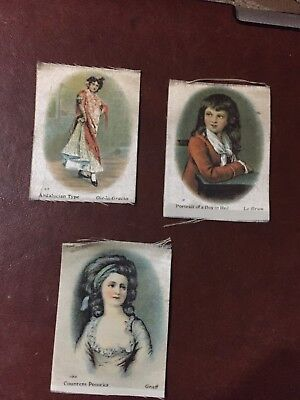 silk pictures ladys  victorian Edwardian