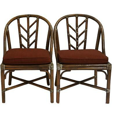 Vintage McGuire Bamboo Chairs- Set of 3