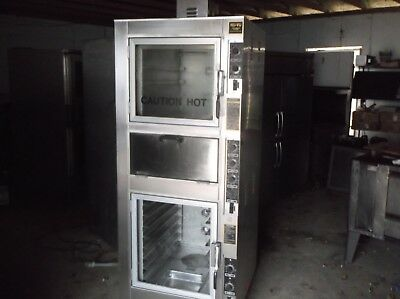 Nu-Vu Model Ub-4 Bake Oven, With Proofer And 2 Deck Pizza Oven