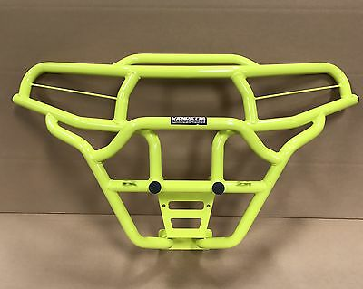 2019 2018 2017 2016 Polaris General 1000 New Viper Front Bumper In Lime Squeeze