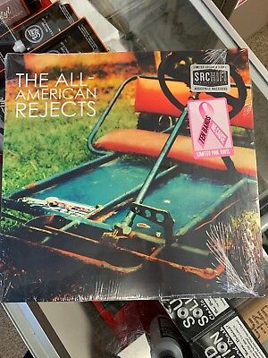 The All-American Rejects  NEW PINK COLORED RECORD LP VINYL