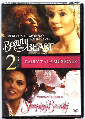 Beauty & The Beast/Sleeping Beauty (DVD, 2013) Double Feature BRAND NEW SEALED