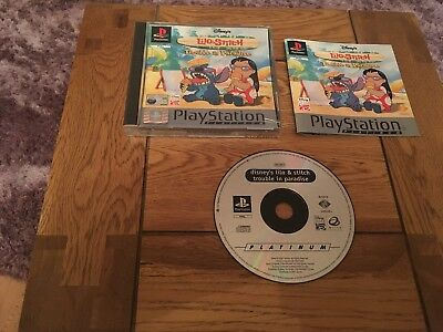 Disneys Lilo & Stitch Trouble In Paradise Ps1