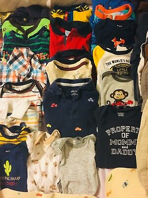 Used Baby Boy clothes (3 -12 Months)lot in Excellent Condition !!