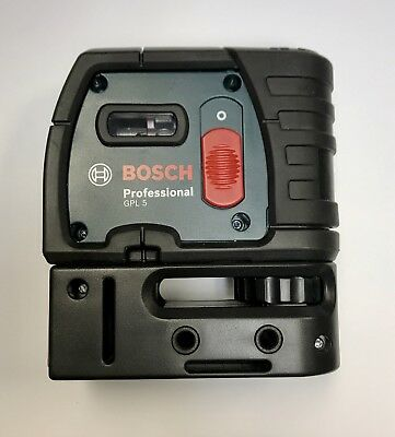 BOSCH GPL 5 R 5-Point Self-Leveling Alignment Laser 100ft