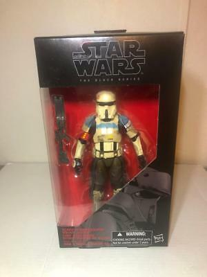 Star Wars The Black Series 6 Inch (Scarif Stormtrooper Squad Leader) #28 New!