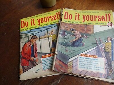 Vintage Do It Yourself Magazine December 1962 And March 1963