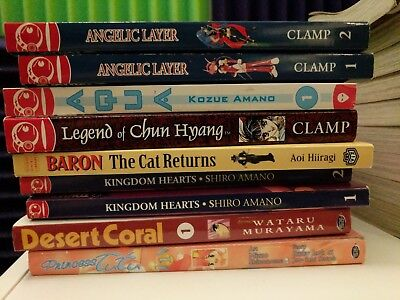 Manga Lot, 9 Volumes, Various Titles