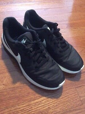 89c6cc158ac Nike MD Runner 2 Low 844857-010 Black Sail Anthracite Mens US size 10.5