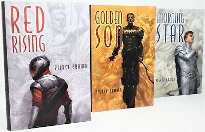 Signed Pierce Browns Red Rising Sons Of Ares Ltd Ed 1st1st Pubs