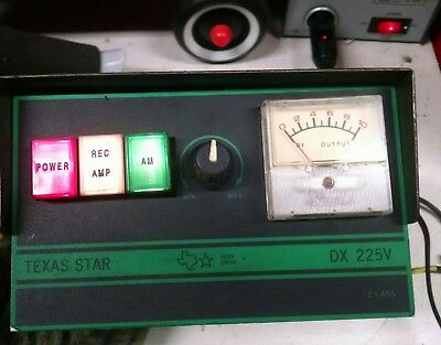 "Nice Clean used ""Texas Star"" DX 225V Linear"
