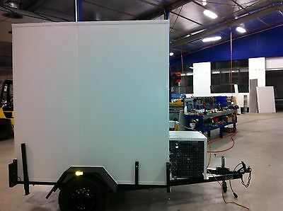 - 6 x 4 Foot - Mobile Trailer - Portable Walk In Cool Room
