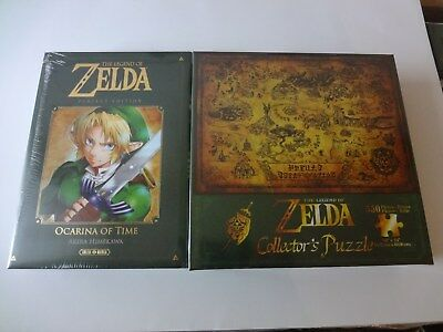 Manga Zelda Ocarina Of Time Perfect Edition + Puzzle collector 550 pièces -NEUF-