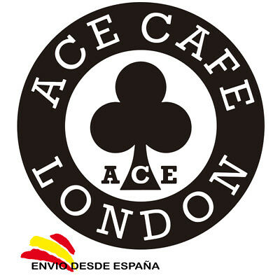 Pegatina Ace Cafe London Club Motero Vinilo Adhesivo Sticker