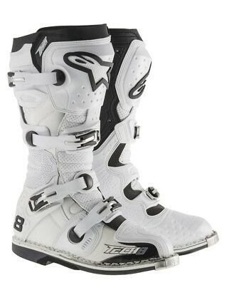 Alpinestars Boot Tech 8 Rs White Vented Size 8
