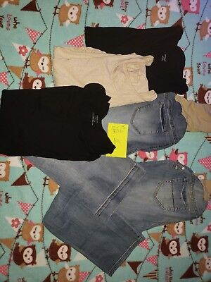 Motherhood Maternity tops and Jeans XL LOT 1 USED