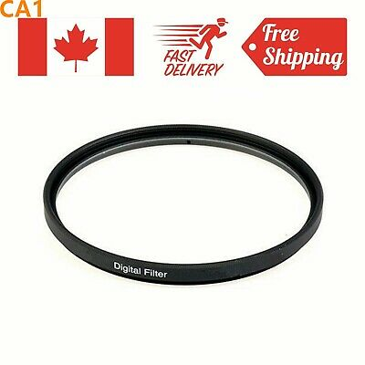 UV Filter 40.5mm/46mm/52mm/55mm/58mm/62mm/67mm/72mm/77mm/82mm for Canon Nikon