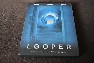Looper blu ray + DVD steelbook Canada Region 1 / A English / French audio