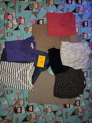 Motherhood Maternity tops and Jeans XL LOT B USED