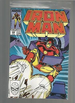 Iron Man #246 vf+ from March 1989 COMBINE SHIPPING BOB LAYTON ARTIST