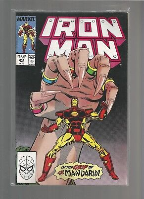 Iron Man #241 vf+ from March 1989 COMBINE SHIPPING DENYS COWN/BOB LAYTON ARTIST