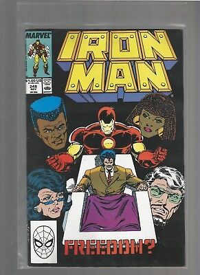 Iron Man #248 vf+ from March 1989 COMBINE SHIPPING BOB LAYTON ARTIST