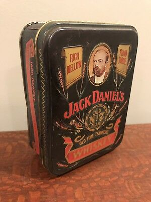 Jack Daniels Old No. 7 Old Time Tennessee Whiskey Tin Box Vintage