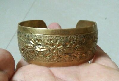 ancient roman bracelet bronze artifact stunning rare type